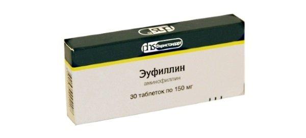 Эуфиллин (таблетки, ампулы) – инструкция по применению, аналоги.
