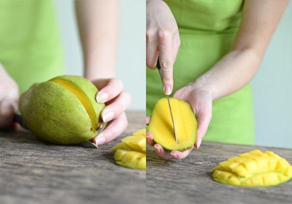 Как очистить манго перед употреблением?