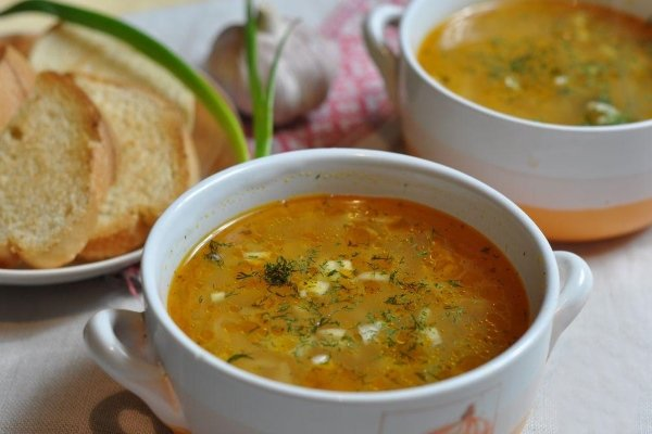 Суп с квашенной капустой