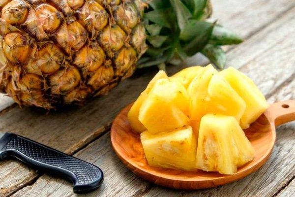 Употребление ананаса