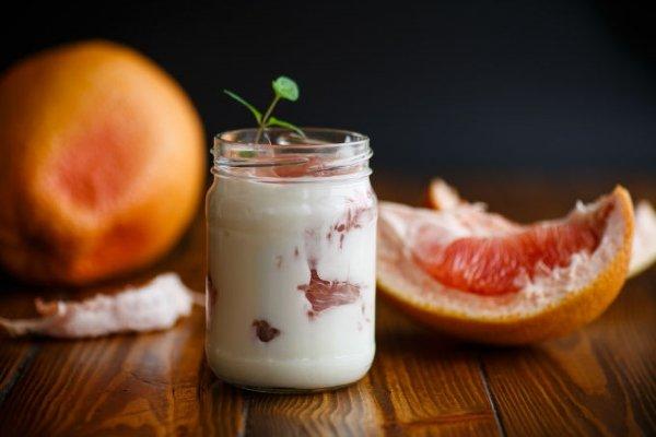 Десерт с грейпфрутом