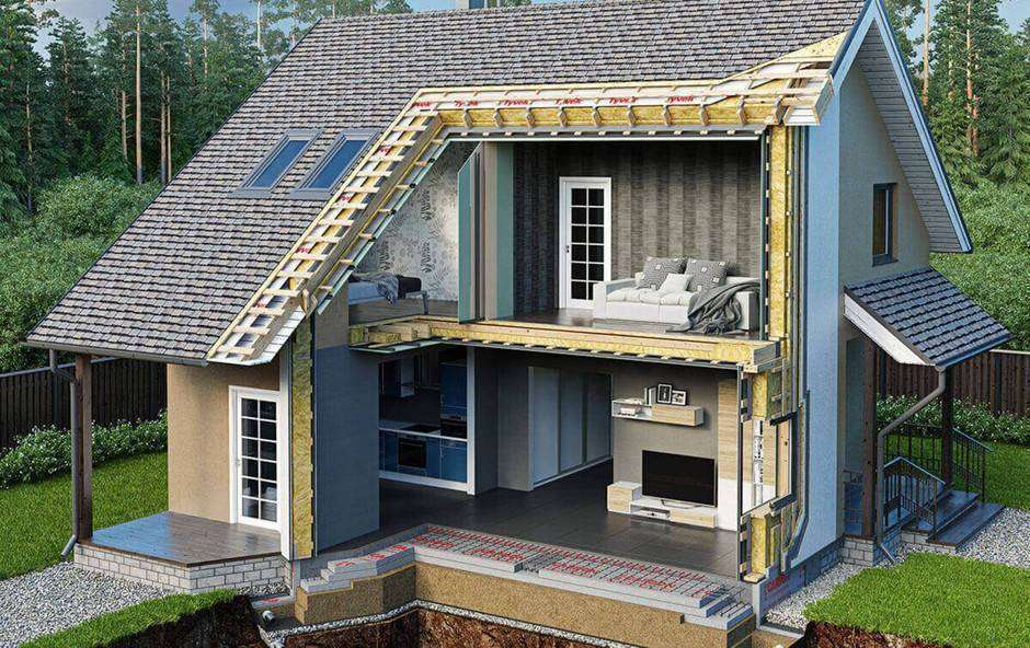Строительство каркасных домов — упор на скорость