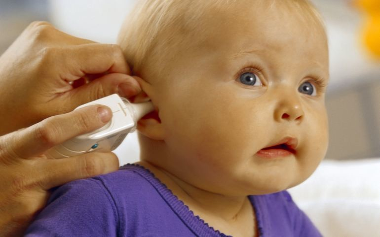 Уход за органами слуха у детей от года до трехлетнего возраста