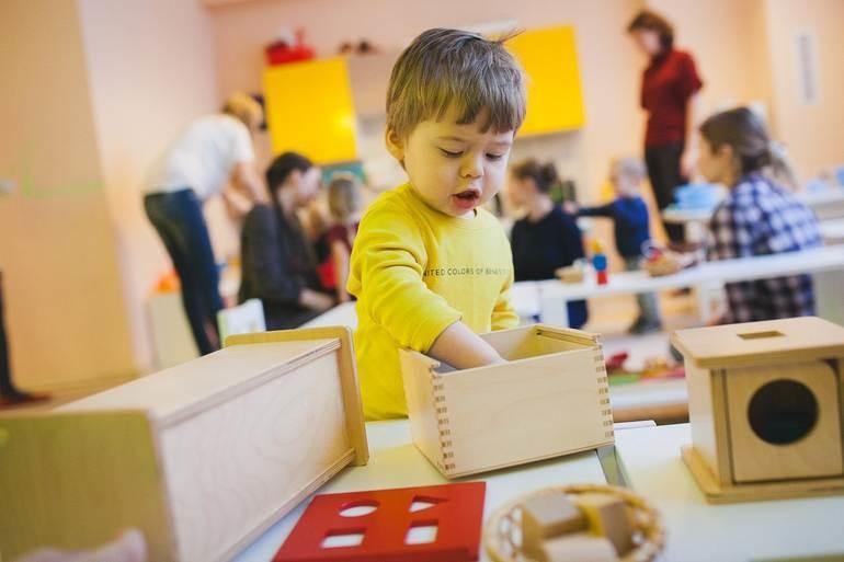 Новый современный подход к обучению по системе Монтессори