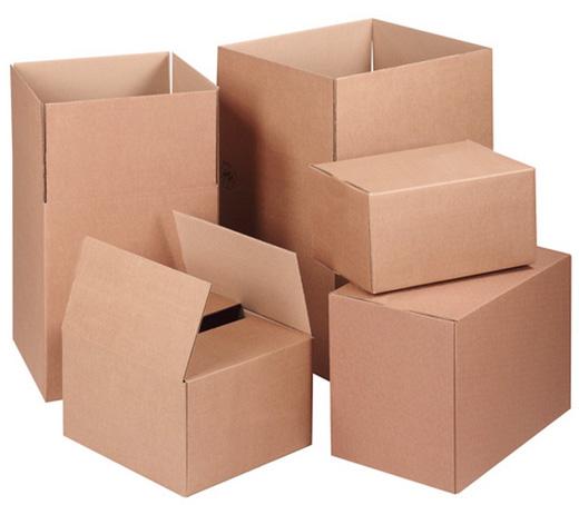 Популярные виды картонной тары
