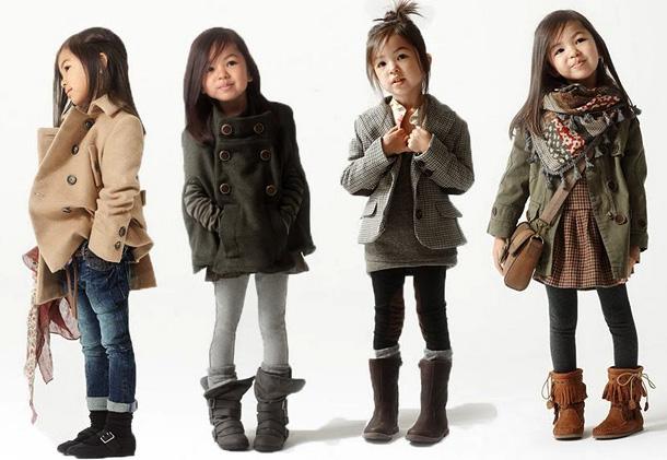 Стильная одежда для девочек от известного дизайнера
