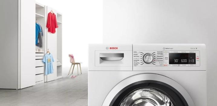 Широкий ассортимент деталей для стиральных машин «Bosch»